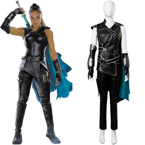 Thor 3 Ragnarok Valkyrie Outfit Whole Set Cosplay Costume