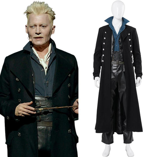 fantastic beasts the crimes of grindelwald gellert grindelwald cosplay costume