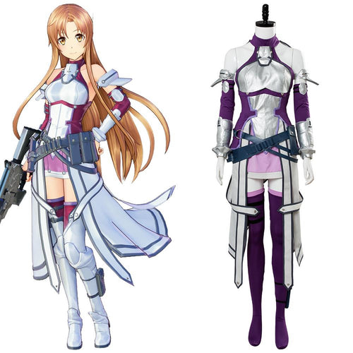 Sword Art Online Fatal Bullet Asuna Outfit Cosplay Costume