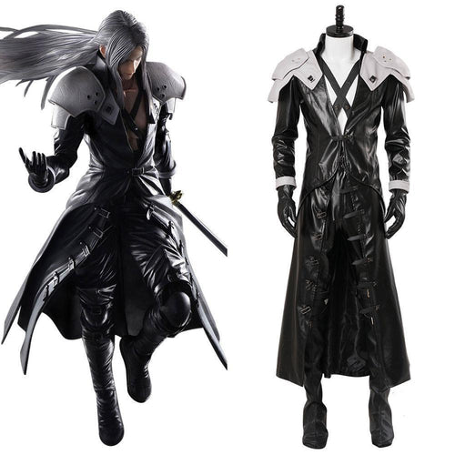 final fantasy vii remake sephiroth outfit cosplay costume