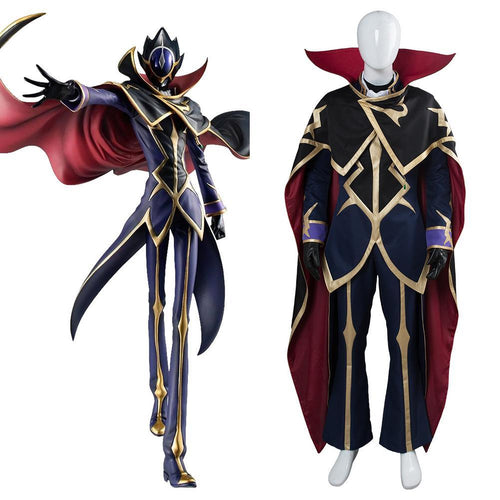 Code Geass Lelouch Of The Resurrection Season  Zero Dress Suit Uniform