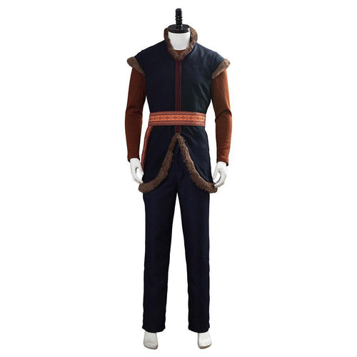 Disney Frozen  Kristoff Cosplay Costume