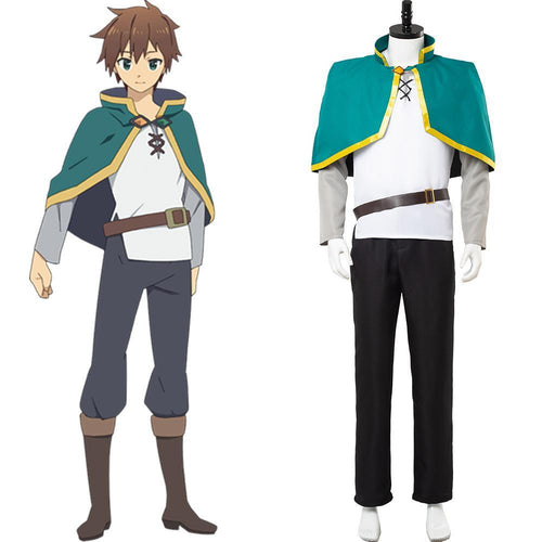 Konosuba God S Blessing On This Wonderful World Satou Kazuma Cosplay Costume
