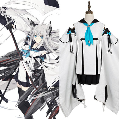 Azur Lane Super Rare Ssr Kawakaze Cosplay Costume