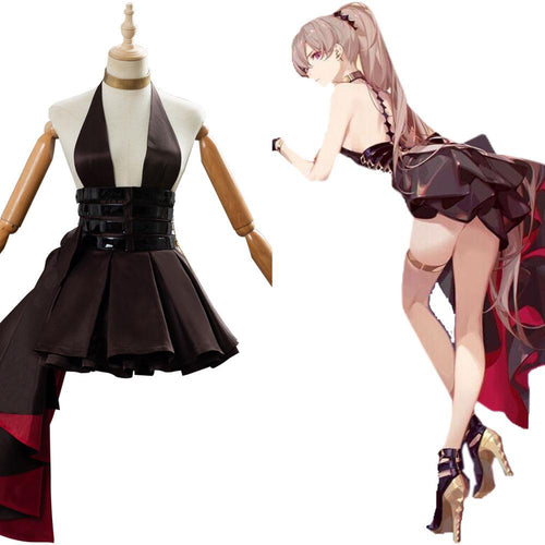Azur Lane Cosplay Mnf Jean Bart Bloodstone Suit Cosplay Costume