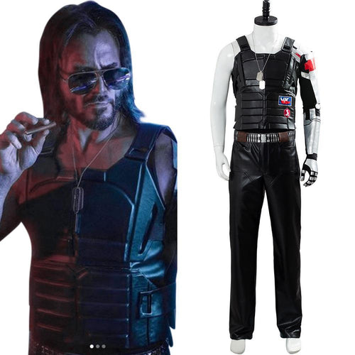 Johnny Silverhand Cyberpunk 2077 Outfit Cosplay Costume