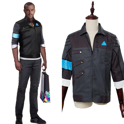 Detroit Become Human Markus Rk Suit Jacket Housekeeper Android Uniform Outfit