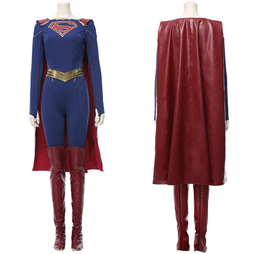 Supergirl Season 5 Kara Zor El Suit Cosplay Costume