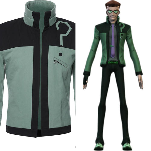 Riddler Dc Young Justice Uniform Jacket Cosplay Costume 1