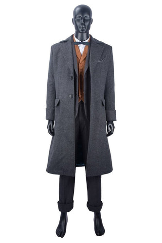 fantastic beasts the crimes of grindelwald newt scamander coat cosplay costume new