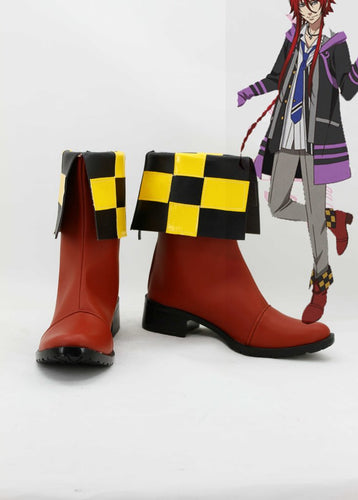 Kamigami No Asobi Ludere Deorum Loki Laevatein Cosplay Boots Shoes