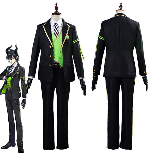 Game Twisted Wonderland Malleus Sebek Silver Uniform Outfit Halloween Carnival Costume Cosplay Costume For Adult