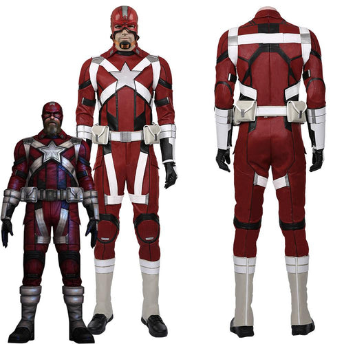 Black Widow Film Alexei Shostakov Red Guardian Halloween Carnival Costume For Men Cosplay Costume