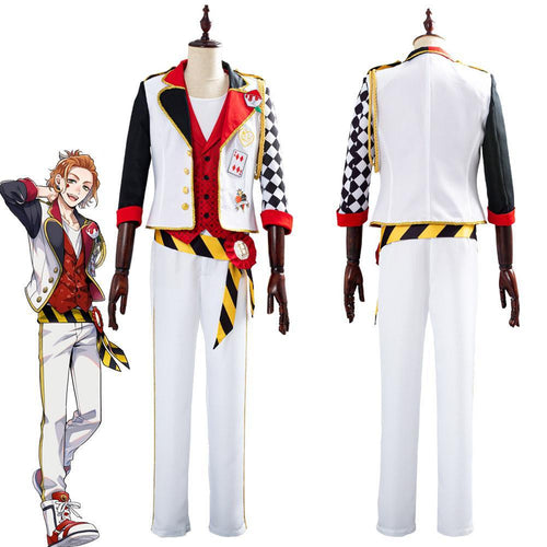 Game Twisted Wonderland Alice In Wonderland Theme Cater Halloween Uniform Outfits Cosplay Costume