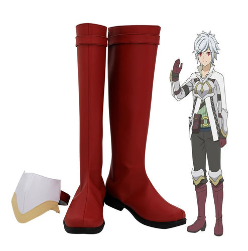 Is It Wrong To Try To Pick Up Girls In A Dungeon Bell Cranel Cosplay Shoes