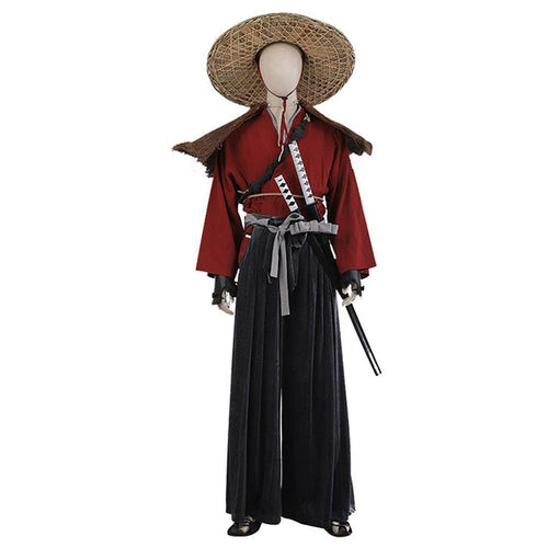 Game Ghost Of Tsushima Jin Sakai Halloween Carnival Costume Japan Samurai Warriors Outfit Cosplay Costume
