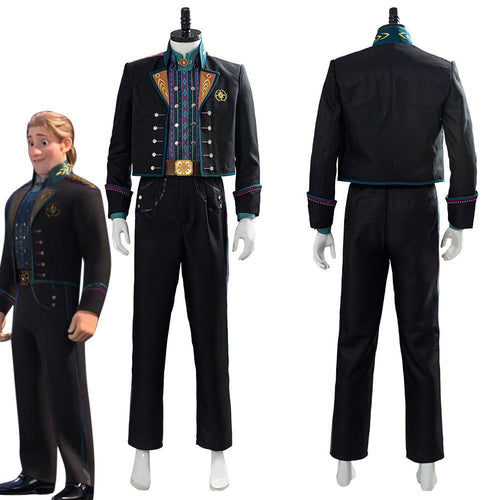 Frozen Kristoff Halloween Suit Uniform Outfit Cosplay Costume
