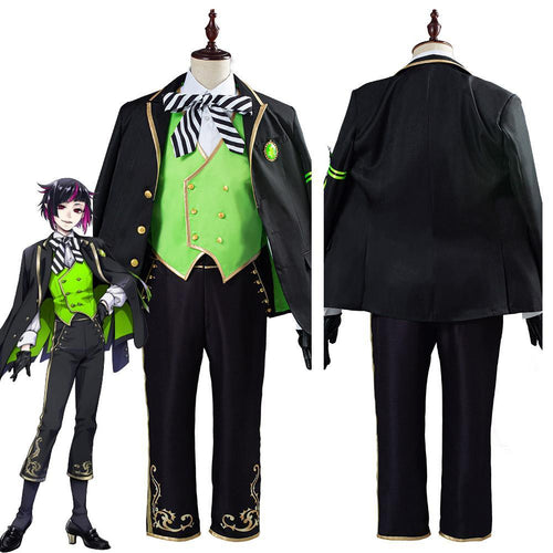 Twisted Wonderland Lilia Vanrouge Uniform Outfit Halloween Carnival Costume Cosplay Costume For Adult