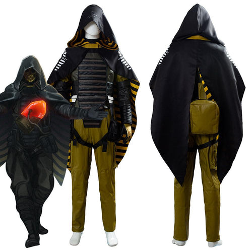Death Stranding Game Higgs Monaghan Cape Homo Demens Void Out Outfit Cosplay Costume