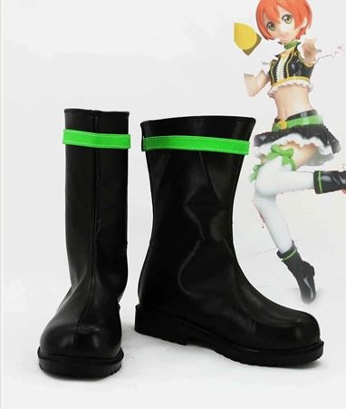 Lovelive No Brand Girls Rin Hoshizora Boots Cosplay Shoes