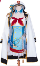 Load image into Gallery viewer, Lovelive Minami Kotori Navy Costume Cosplay Costume