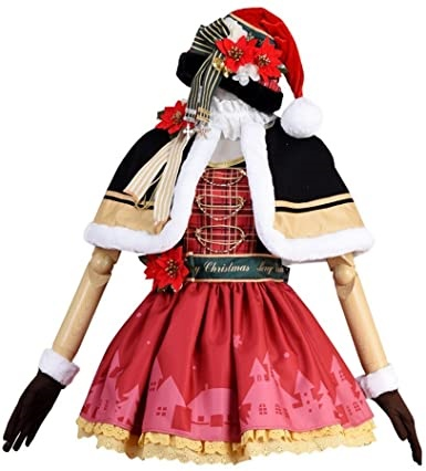 Lovelive Eli Ayase Christmas Uniform Cosplay Costume