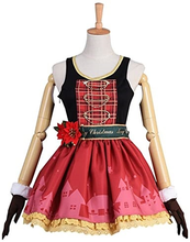 Load image into Gallery viewer, Lovelive Eli Ayase Christmas Uniform Cosplay Costume