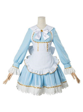 Load image into Gallery viewer, Love Live Ruby Kurosawa Aqours Wonderland Ver Maid Dress Cosplay Costume