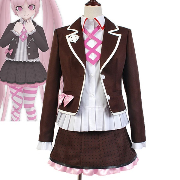 zettai zetsub sh jo danganronpa anotherepisode kotoko utsugi uniform cosplay costume
