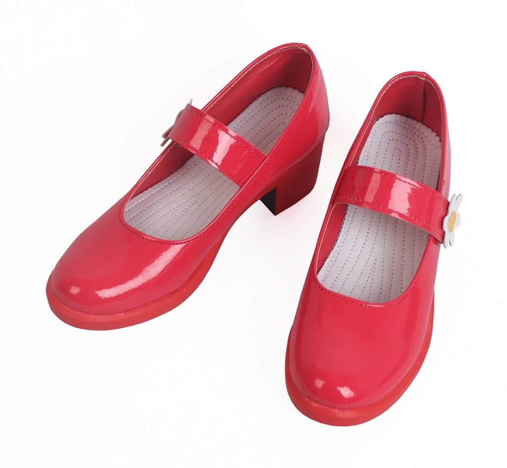Touhou Project Cirno Cosplay Shoes Boots