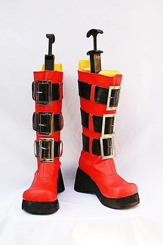 Togainu No Chi Rin Cosplay Boots Shoes