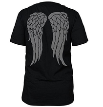 Load image into Gallery viewer, The Walking Dead Daryl Dixon Black T Shirt Short Sleeve Tee