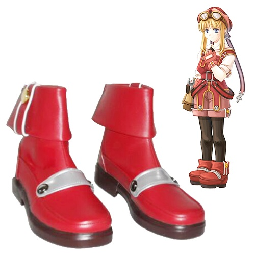 The Legend Of Heroes Trails In The Sky Tita Russell Cosplay Boots
