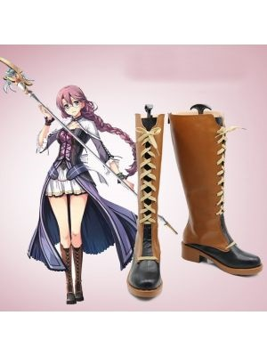 The Legend Of Heroes Trails In The Sky Blblanc Cosplay Boots