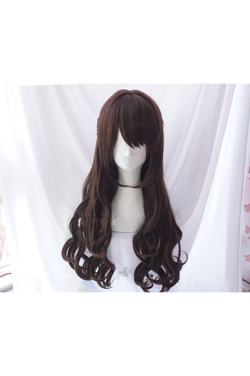 The Idolmaster Cinderella Girls Uzuki Shimamura Cosplay Wig