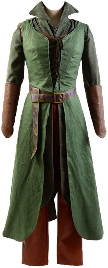 The Hobbit 2 3 Elf Tauriel Outfit Cosplay Costume