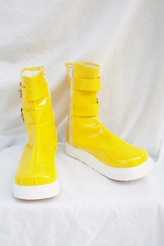 Tales Of Destiny Chersea Tone Cosplay Boots Yellow