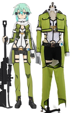 Load image into Gallery viewer, Sword Art Online Alfheim Online Sinon Asada Shino Cosplay Costume