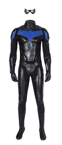 young justice s2 nightwing uniform jumpsuit cosplay costume