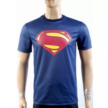 Load image into Gallery viewer, Superman Man Of Steel Superman Blue T Shirt New