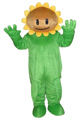 Sunflower Of Plants Vs Zombies Pvz Mascot Costume Adult Size