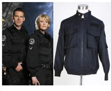 Load image into Gallery viewer, Stargate Sg1 Black Uniform Jacket Costume