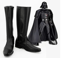 Load image into Gallery viewer, Star Wars Darth Vader Boots Cosplay Shoes