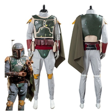 Load image into Gallery viewer, Star Wars Boba Fett Men Uniform Outfit Halloween Carnival Suit Cosplay Costume