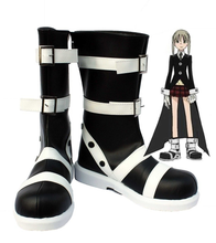 Load image into Gallery viewer, Soul Eater Maka Albarn Cosplay Shoes Boots Costume