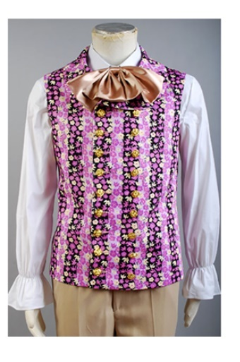 willy wonka and the chocolate factory 1971 costume vest only