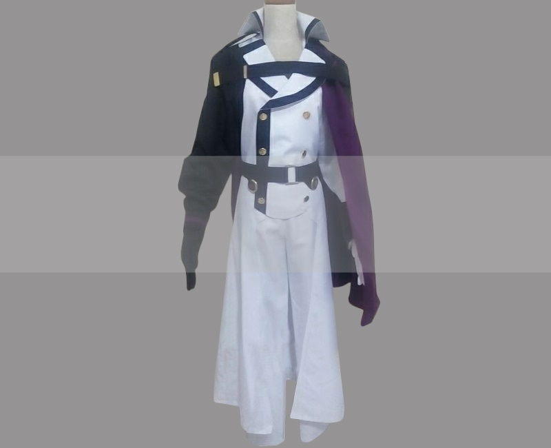 Seraph Of The End Crowley Eusford Cosplay Costume