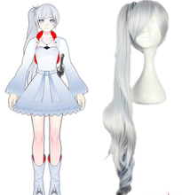 Load image into Gallery viewer, Rwby White Trailer Weiss Schnee Cosplay Wig