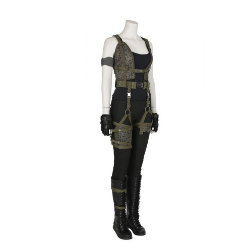 Resident Evil 6 The Final Chapter Alice Outfit Cosplay Costume