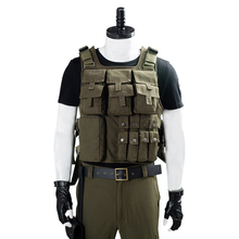 Load image into Gallery viewer, Resident Evil 3 Remake Carlos Oliveira Men Uniform Outfit Halloween Carnival Costume Cosplay Costume